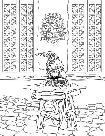 harry potter coloring pages pdf | Harry Potter Coloring Book For Adults in EPUB, PDF & MOBI ...